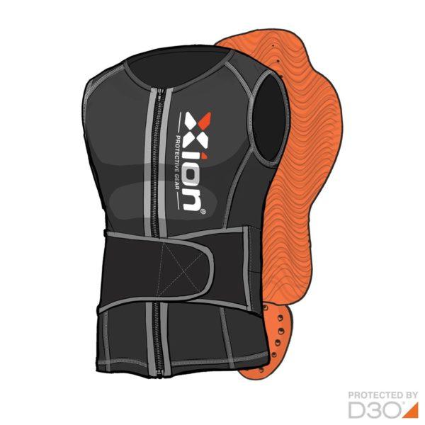xion-backpad-vest-freeride-men-sketched-front
